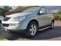SSANGYONG KYRON 4WD/2WD AUTOMATIC 09 PLATE