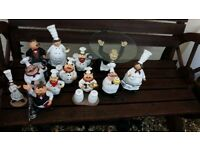 Chef ornaments job lot of 12