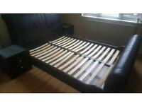 Kingsize Bed and 2 chest drawers