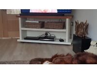 Large Solid Wood TV Stand