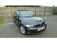 BMW 118D M-SPORT,DIESEL,BLACK 2299£