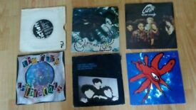 """8 x the cure LP / 7"""" - hanging garden / staring at the sea / never enough"""