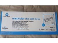 Konica Minolta - Toner Cartridge - MagicColor 2400/2500 - Cyan
