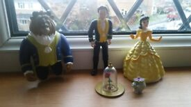 DISNEY: Beauty and the Beast Figures