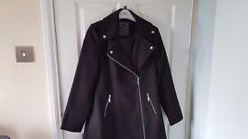 size 12 new look winter coat