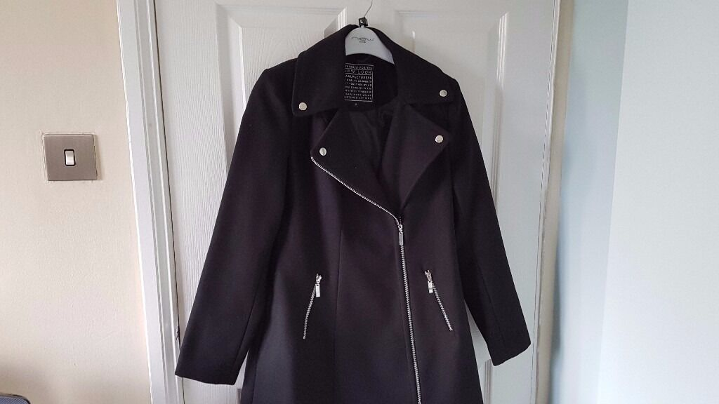 size 12 new look winter coat