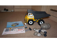 Discontinued Playmobil 4037 Heavy Duty Dump Truck with stickers/docs AS NEW
