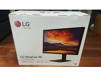 LG ultrafine 4k Display (Brand New Boxed)/ OFFERS WELCOME!....