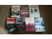 WWII Non Fiction Book Collection over 22 books £5 the lot