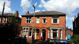 Four bedroom house to let in Manchester. Students welcome