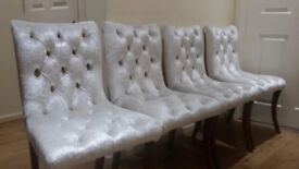 chesterfield style chairs