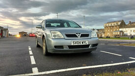 Vauxhall Vectra Club 1.8 2004 with 12 months MOT
