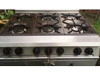 Falcon Dominator 6 burner double oven