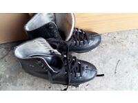 Boys Ice Skating Shoes Size 4