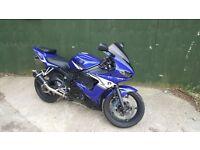 2005 YAMAHA YZF R6 5SL BLUE LOW MILEAGE 15K 600CC SUPER SPORTS BIKE