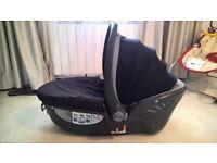 Britax baby-safe sleeper lie flat car seat