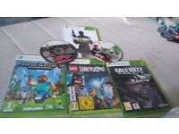 Xbox 360 bundle, kinnect , lego dimensions 15 characters, loads more