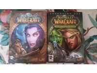 World of Warcraft original box set + Burning Crusade box set