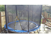12ft trampoline excellent condition