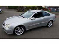 2004 Mercedes CLK270 CDI Coupe Avantegard
