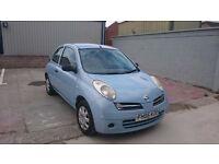 Nissan Micra 1.2 S, 3 Door, Blue, 12 Months MOT, Cheap reliable car