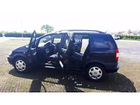 VAUXHALL ZAFIRA 1.8 DESIGN 10 MONTHS MOT EXCELLENT CONDITION! RUST FREE!!!!