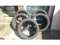 5 Tyres 205/40/17