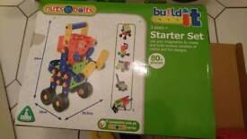 Elc age 3+ build it starter set construction toy