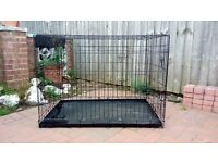 LARGE DOG CRATE / CAGE