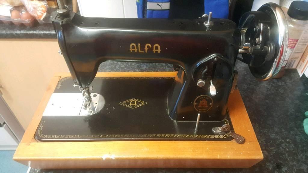 Alfa Mk 2 Sewing Machine In Ferndale Rhondda Cynon Taf Gumtree