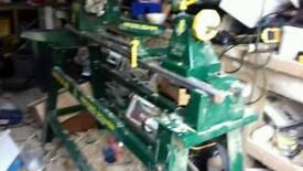 Record Wood turning lathe