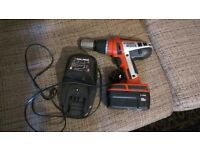 BLACK&DECKER HP188F3B 18 V Hammer Drill, 1x 18 V Batteries with Charger
