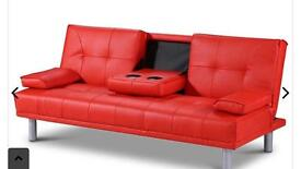 Sofa ComeBed With Cup Holders