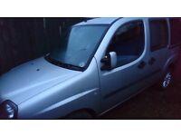 Fiat Doblo 1242cc 5 seater Petrol MPV