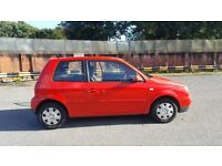 Volkswagen Lupo Auto Red 2001