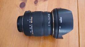 Sigma 17-50mm 1:2.8 EX HSM for Nikon cameras