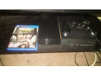 **BARGAIN** PS4 WITH CALL OF DUTY WW2