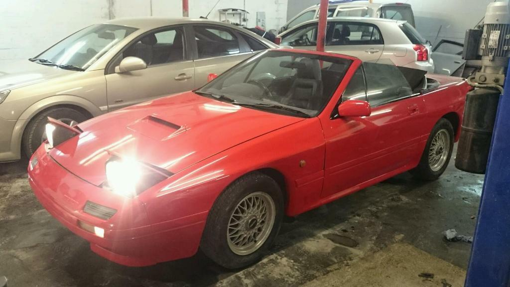 mazda rx7 turbo cabrio breaking in preston lancashire gumtree. Black Bedroom Furniture Sets. Home Design Ideas