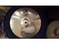 "Zildjian 13"" A Custom Mastersound Hi Hats Cymbals"