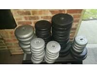 Vinyl weights plates gym