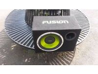 12'' Fusion car audio Subwoofer / speaker with cabin EN AB1120 for £25