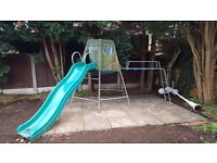 TP TOYS CLIMBING FRAME AND SLIDE