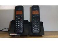 Binatone Luna 1105 Cordless Telephone-Twin.