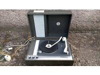 Elizabethan Mini Mono Portable Record Player