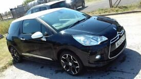 63 PLATE CITREON DS3 1.6 DIESEL, COUPLE OF MARKS ON BODY SEE PICS, RELIABLE CAR, 12 MONTHS MOT