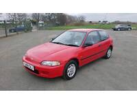 Honda Civic petrol automatic with MOT low miles in good running order