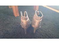 River island inner wedge stiletto boot size 6