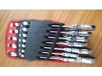 mac tools ratchet spanners