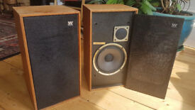 Wharfdale Linton 2 speakers pair for classic stereo