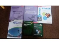 GCSE French Revision Guides - 5 Books and 1 DVD
